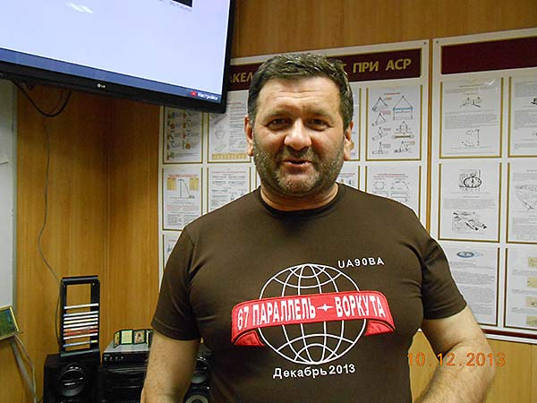 UA9OBA в Воркуте