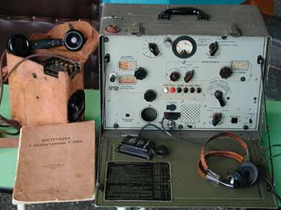 Комплект радиостанции V-100-B
