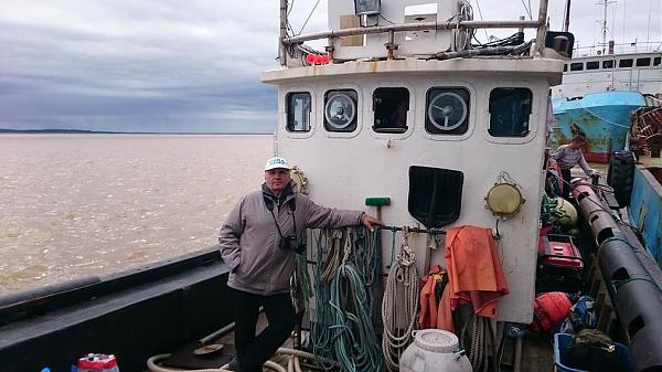 Владимир RK8A перед отходом на остров.