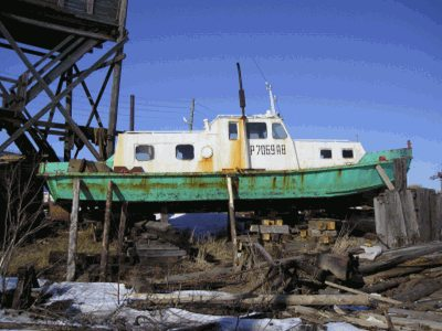 Фото катера «Вейга»