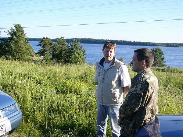 Слева Алексей RA1QY, справа Юрий RZ1OK.