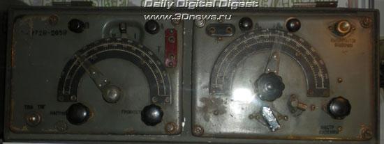 12-РП - коротковолновая радиостанция пехоты образца 1941 г. Состоит из отдельных блоков передатчика и приемника.