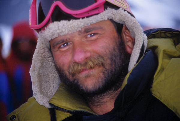 Юрий Заруба в «Millenniun expedition — 2000» (Антарктида)
