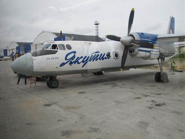 Самолет АН-24РВ