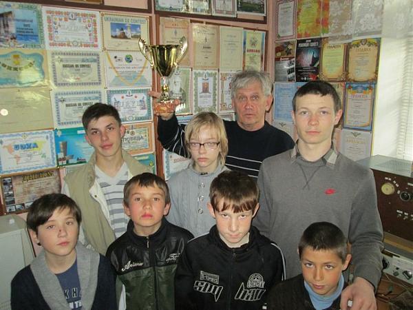 Кубок юным радиолюбителям Измаила