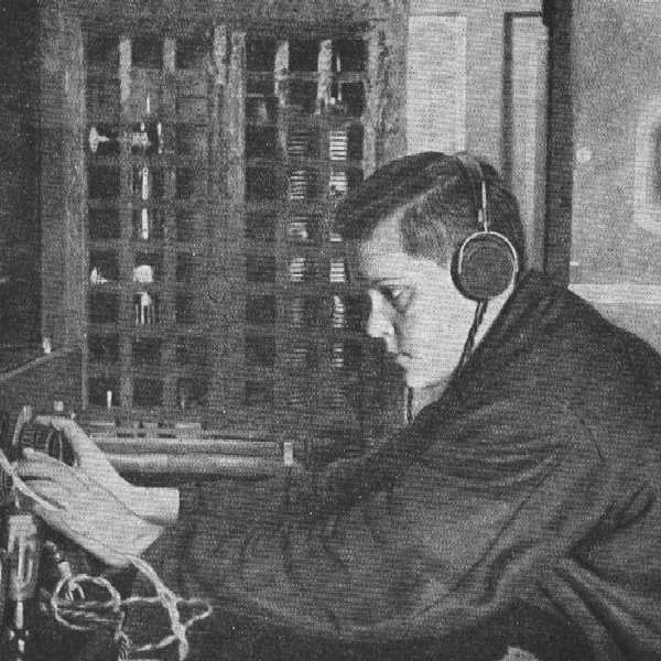 Людмила Шрадер на ПСТ м.Уэлен, 1934 г.