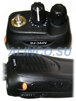 Органы управления радиостанции Alinco DJ-344