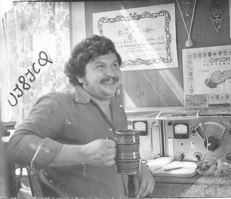 UJ8JCQ и его второе хобби. 1985 г.