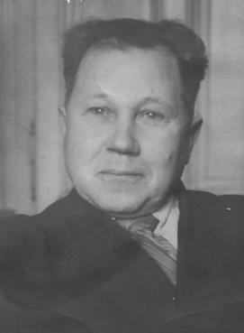 В.А. Базикайло, 1955 г.