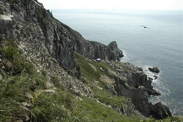Остров Ионы. Вид с вершины