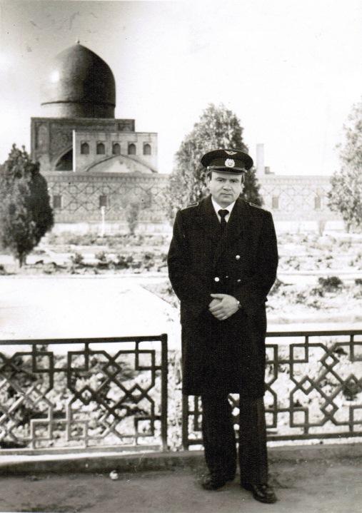 Радист – инструктор Курасов А.Д. (80-е годы)