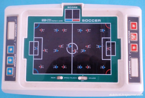 World Cup SOCCER от TOMY Electronics