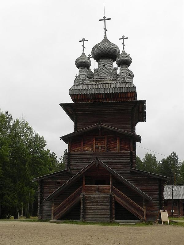 Церковь Вознесения Господня (1669г.) перевезена из с.Кушерека Онежского уезда