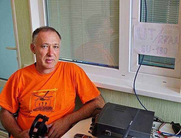 Шэк радиостанции UT/R7AA на EU-180