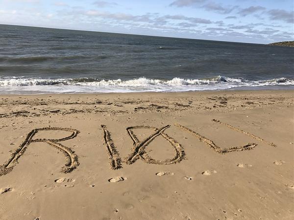 Позывной RI0LI на песке, Восточно-Сибирское море сразу за песком