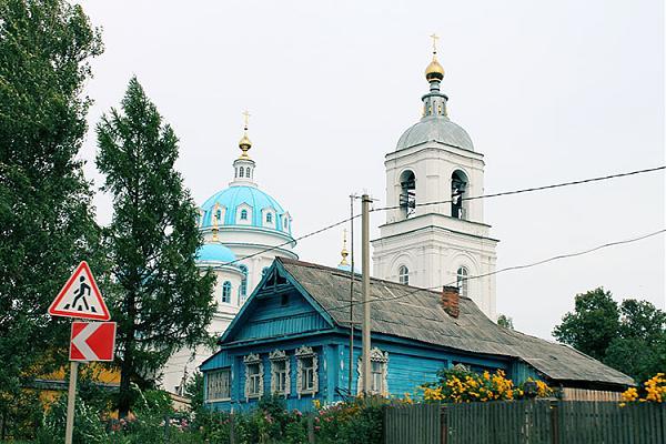 Церковь в Ярославской области