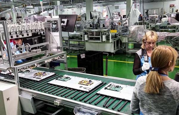 Установка печатных плат на ЖК-панели