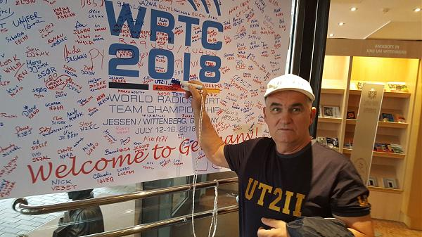 Отметился на WRTC
