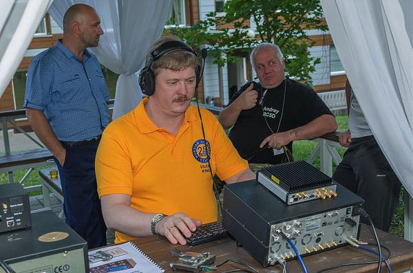 Фото за радиостанцией R1NU