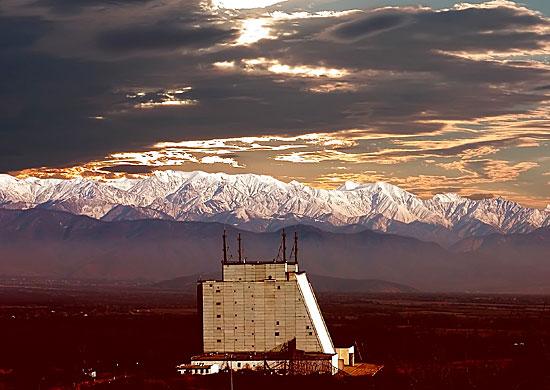 Передающая позиция Габалинской радиолокационной станции «Дарьял»