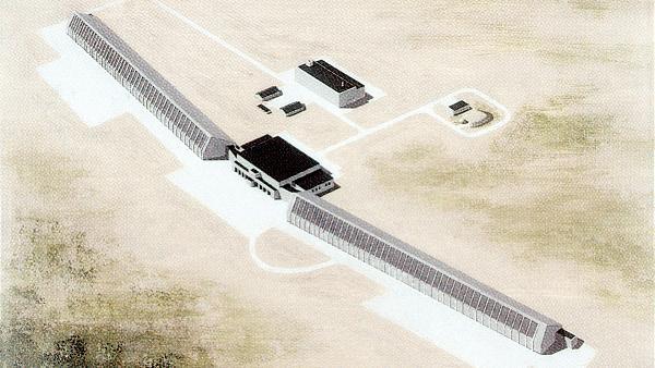 Концептуальная схема радиолокационной станции «Днестр»