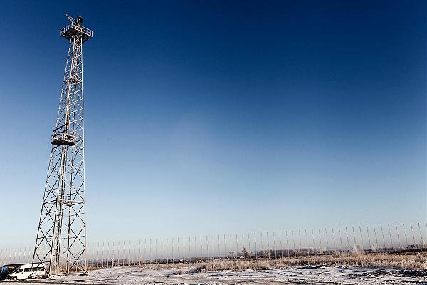 Антенное поле радара «Контейнер» в Ковылкино