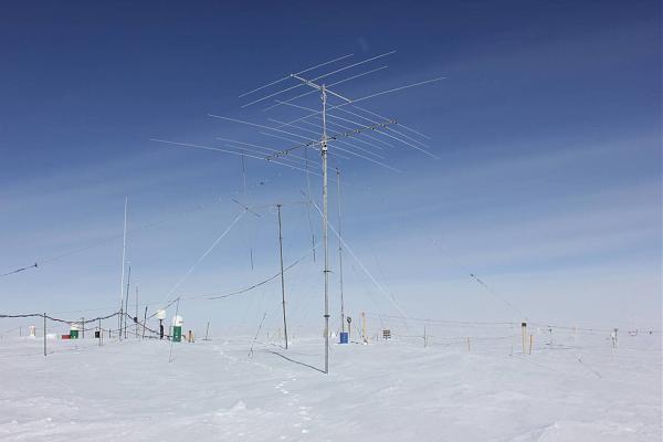 Антенна yagi на кв диапазоны на антарктической станции Восток