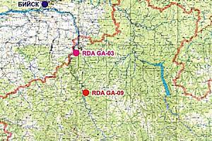 RDA GA-03,05 экспедиция UE9OWD/9