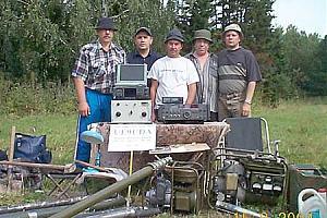 Экспедиция по районам Кемеровской области.