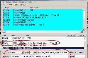 Отправка электронной почты по радиоэфиру из APRS-сети