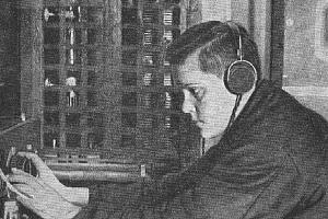 Людмила Шрадер - известная довоенная полярная радистка