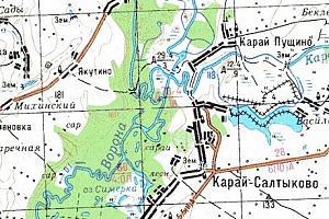 """RI 68-18 """"Заповедный остров"""" Карай - Салтыковский"""