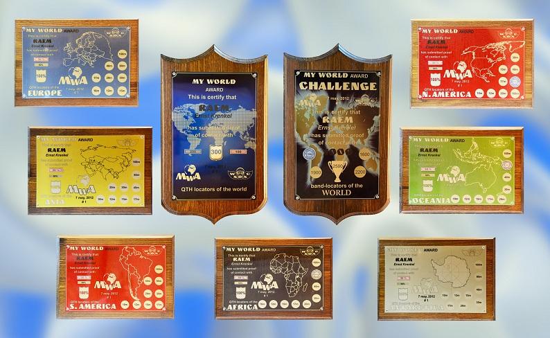 my world award условия получения радиолюбительского диплома на  Дипломная программа my world