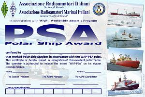 POLAR SHIP AWARD