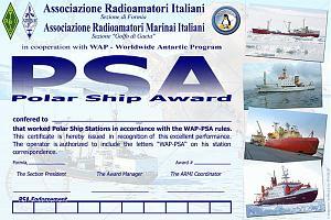 POLAR SHIP AWARD