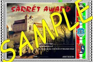 SARRET AWARD