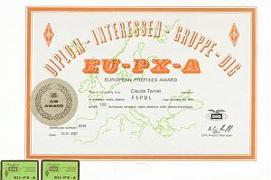 EU-PX-A (EUROPEAN PREFIXES AWARD)