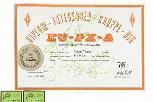 EU-PX-A (EUROPEAN PREFIXES AWARD)