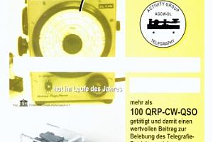 QRP-CW-100 (QRP CW 100 DIPLOM)
