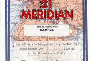 W-21-M (WORKED 21 MERIDIUM AWARD)