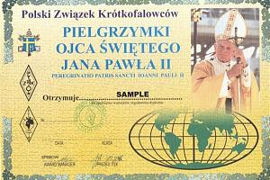PILGRIMAGES OF THE HOLY FATHER (PIELGRZYMKI OJCA SWETEGO JANA PAWLA II AWARD) (ПУТЕШЕСТВИЯ СВЯТОГО ОТЦА ИОАННА-ПАВЛА II)