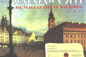 WARSZAWA 2000. 700 YEARS OF THE WARSZAWA CITY AWARD