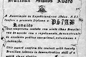DIB - DIPLOMA DOS ILHEOS BRASILHEROS (BRAZILIAN ISLANDS) AWARD