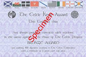 THE CELTIC KNOT AWARD