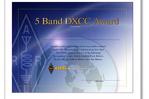 DXCC (DX CENTURY CLUB AWARD)