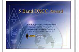 DXCC (DX CENTURY CLUB AWARD)