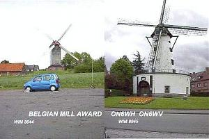 BELGIAN MILL AWARD
