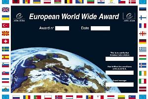 E.W.W.A. (EUROPEAN WORLD WIDE AWARD)