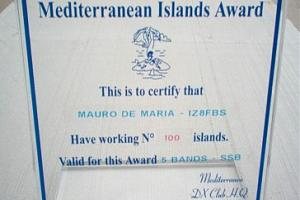 MIA (THE MEDITERRANEAN ISLANDS AWARD)