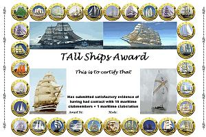 TALL SHIPS AWARD